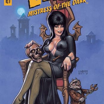 Exclusive First Look Inside Elvira: Mistress of the Dark #1