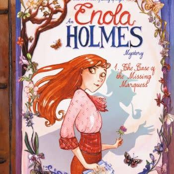 IDW's EuroComics to Publish Serena Blasco's Enola Holmes Graphic Novels