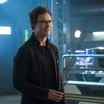 The Flash Season 4: Harrison Wells and the Sonic Scepter