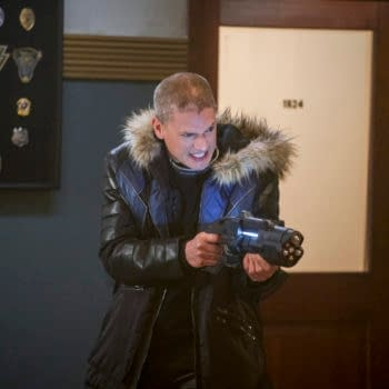 DC's Legends of Tomorrow: Wentworth Miller Returning for 100th Episode