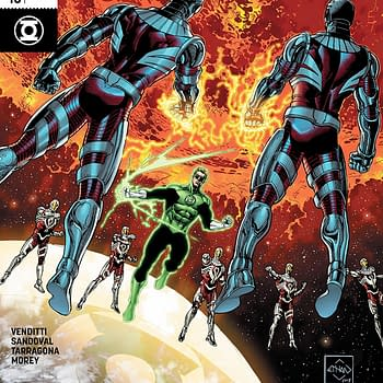 Hal Jordan and the Green Lantern Corps #43 Review: Hes Right Behind Me Isnt He