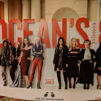 [#CinemaCon 2018] Ocean's 8 Lets You 'Join The Dream Scheme' with New Standee