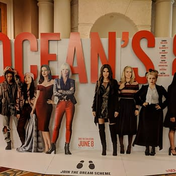 [#CinemaCon 2018] Oceans 8 Lets You Join The Dream Scheme with New Standee