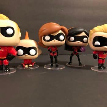 Incredibles Funko Pops Group Shot