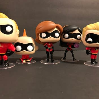 Lets Take A Look At The Incredibles Funko Pops