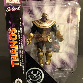 Lets Take a Look at The Disney Store Exclusive Marvel Select Thanos