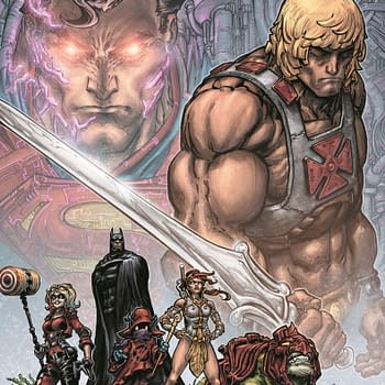 Batman and He-Man Team Up in Injustice vs. Masters of the Universe by Tim Seeley and Freddie E. Williams II