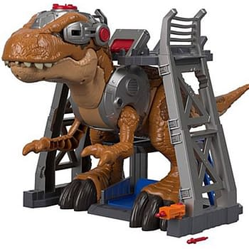 Jurassic Worlds T-Rex Gets a Monster-Sized Imaginext Figure