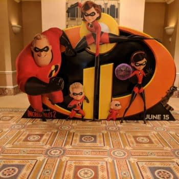 The Incredibles 2 Take Their Place at #CinemaCon 2018