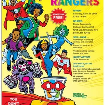 Dieselfunk Dispatch: Free Admission at Kids Comicon at Bronx Community College Today