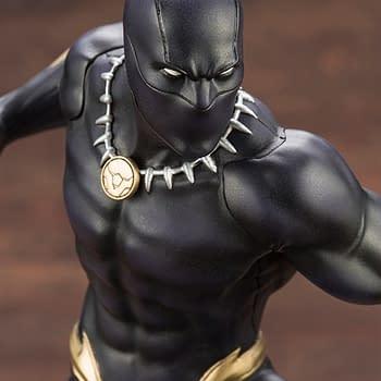 Black Panther Gets a New Statue from Kotobukiya