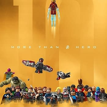 LEGO Celebrates the MCUs 10th Anniversary with a Poster