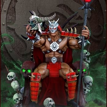 Bow To This New Shao Kahn Figurine Coming in 2019