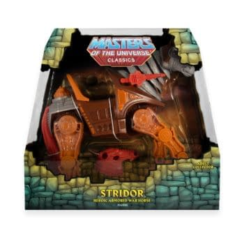Masters of the Universe Collector's Choice Stridor Revealed by Super7