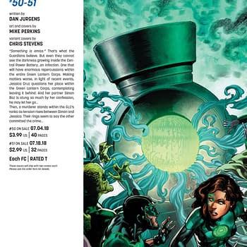 Dan Jurgens and Mike Perkins Stake Claim on Green Lanterns in July