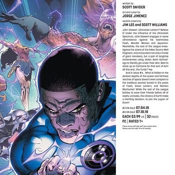 John Stewart to Become Ultraviolent Ultraviolet Lantern in Justice League #3