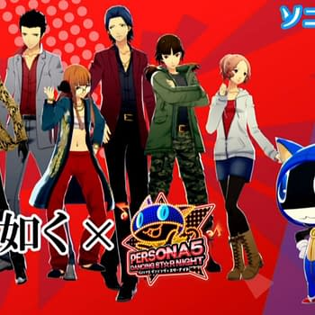The Persona Dancing Games are Getting Yakuza Sonic and Virtua Fighter Costumes