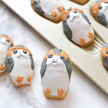 Nerd Food at Home: Make Your Own Adorably Grumpy Porg Madeleines
