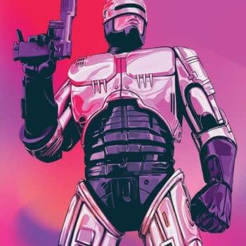 Robocop: Citizen's Arrest #1 cover by Nimit Malavia and David Rubin