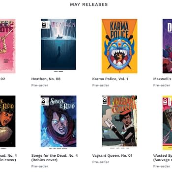 Vault Comics Launches BookIt Online Preorder Service with 20 Retailers