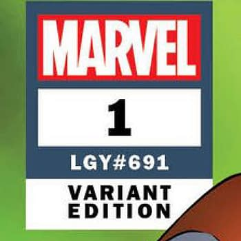 Marvels Dual Numbering Spotted on Variant Cover