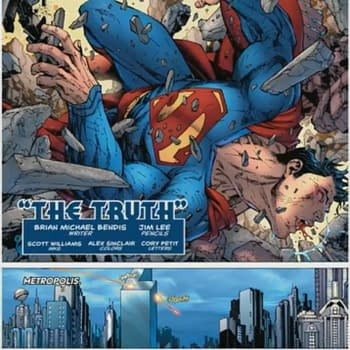 The First 4 Pages of Bendis and Jim Lees Action Comics #1000 – and the New Villain