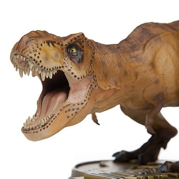 Jurassic Parks T-Rex Gets a New Statue Exclusive to ThinkGeek