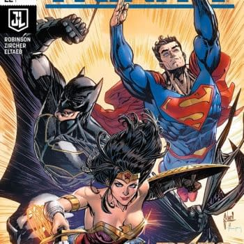 Trinity #22 cover by Guillem March and Tomeu Morey