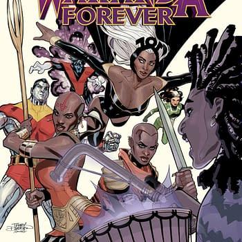 The Dora Milaje vs. the X-Men in X-Men: Wakanda Forever from Nnedi Okorafor