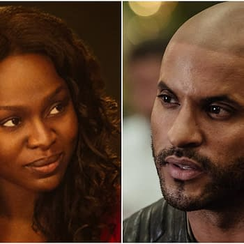American Gods Ricky Whittle Yetide Badaki Update Season 2 at C2E2