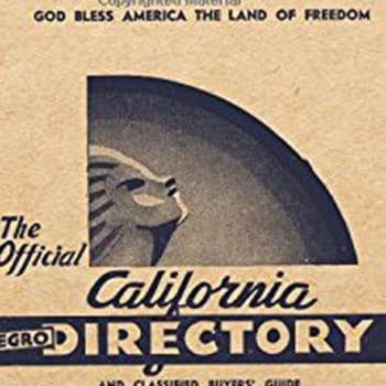 About Comics to Republish the California Negro Directory: 1942-43 Edition