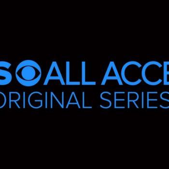cbs all access logo Strange Angel