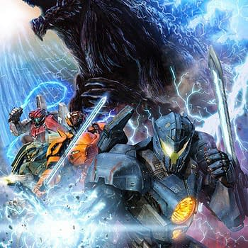 Pacific Rim Uprising and Godzilla Team Up in This Promo Poster