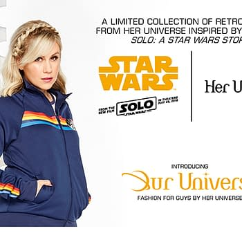 Her Universe Launches Solo: A Star Wars Story Fashion Line Includes Menswear