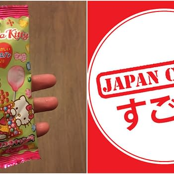 Nerd Food: Peach Hello Kitty Lollipop from Japan Crate