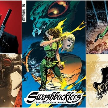Exclusive Extended Preview of Swashbucklers: The Saga Continues #1 and More