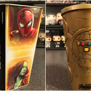 Infinity War Collectors: See It at Cinemark and Get a Cool Cup and Popcorn Tin