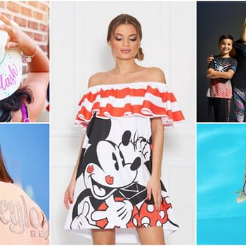 New Disney Summer Fashions: Dresses Activewear and More