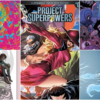 Rob Williamss Project Superpowers Leads Dynamites July 2018 Solicitations