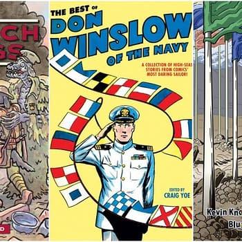 U.S. Navy Invades Comics Industry Launches Dead Reckoning Imprint Reprints Classic Don Winslow