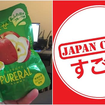 Nerd Food: Pureral Gummy Apple Snack from Japan Crate
