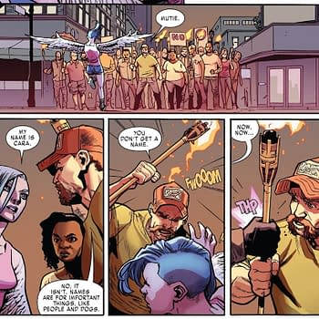 Now Anti-Mutant Rallies Use Tiki Torches Too (X-Men Red #3 Spoilers)