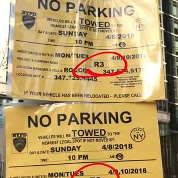 Daredevil Season 3 Filming in Manhattan Today