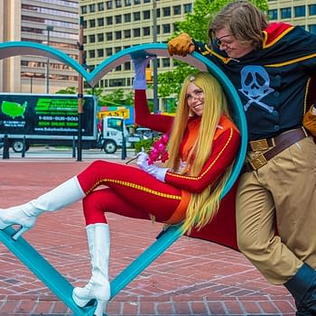 Balticon 52 Cosplay Gallery: Captain Harlock and Emeraldas