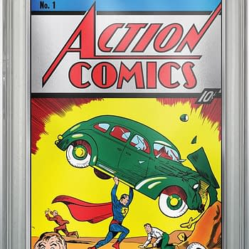 DC Comics is Giving Away a CGC Graded Action Comics #1 Silver Foil Variant