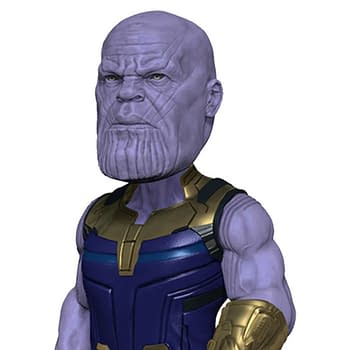 Thanos Gets An Amazing Infinity War Head Knocker From NECA