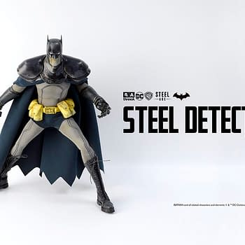 Batman Steel Age Figure Designed by Ashley Wood Up for Order Now