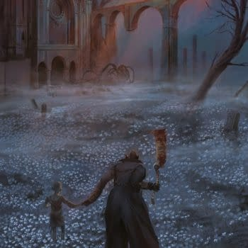 Bloodborne #4 cover by Vanesa del Rey