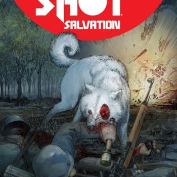 Bloodshot Salvation #9 cover by Kenneth Rocafort