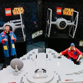 LEGO Master Builders Are Completing a Millennium Falcon This Weekend at Disney Springs